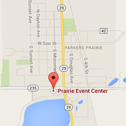 Parkers Prairie Map